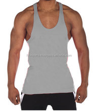 Bodybuilding Gym Singlet/ Stringer Vests/ Plain cotton gym tanktops