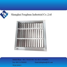Galvanized Steel Directional Air Vent For HVAC System