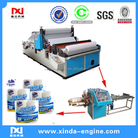 embossing Color Glue Kitchen Towel Toilet Paper Machine,kitchen towel used machinery