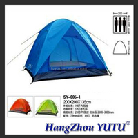 YT-005-1 luxury family outdoor waterproof portable camping tent