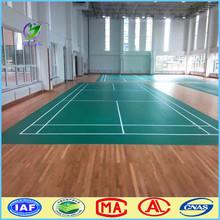 Alibaba china vinyl badminton court sport PVC floor