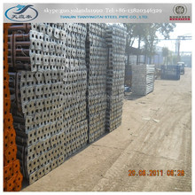 scaffolding material specification/adjustable props/scaffolding system