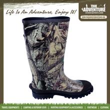True Adventure TA2-015 China Factory Fashion PVC Rain Boot Women Rubber PVC Cheap Rain Boots
