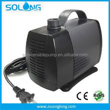 High efficiency 90 W rohs and ce certified clean energy garden ip68 rating pond waterfalls pump