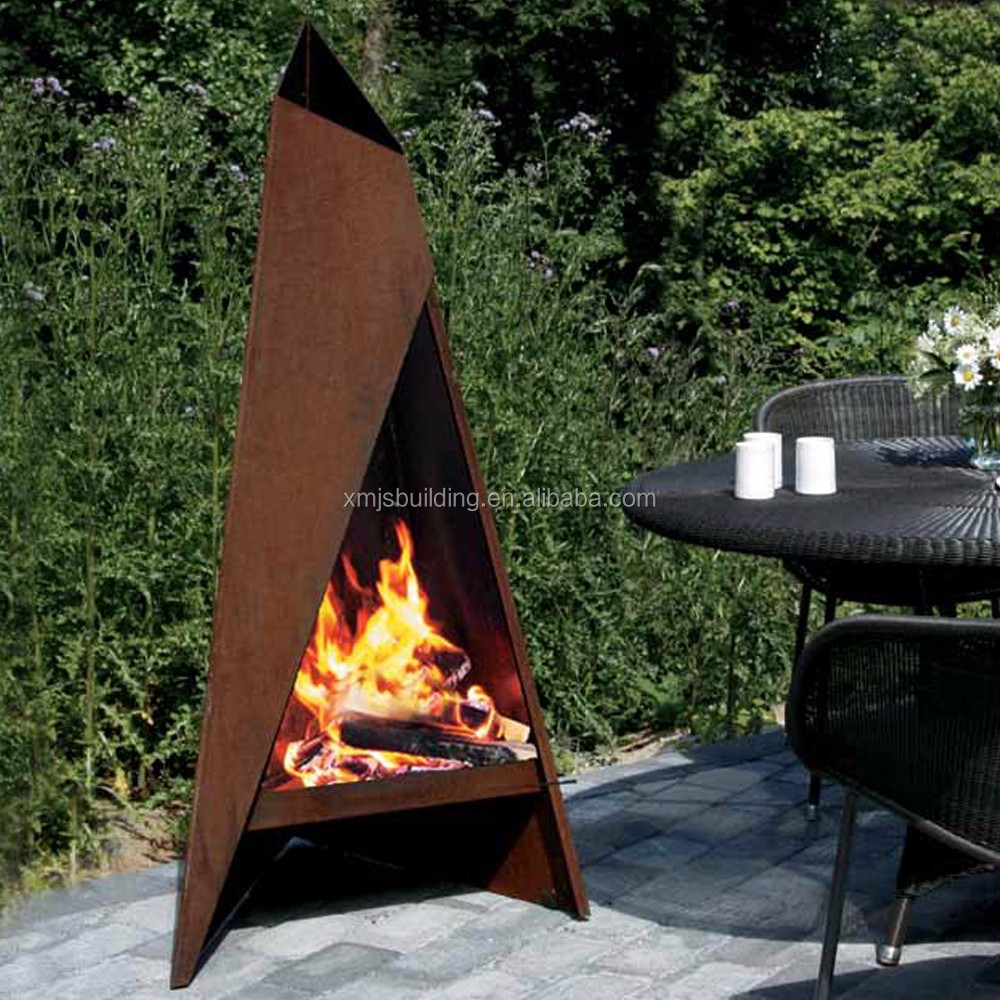 This corten steel fire pit is of vintage and large, which is suitable for  outdoor use, especially in cold winter. It is made of corten steel, ... - Outoor Decoration Corten Steel Fire Pit - Buy Corten Steel Fire Pit