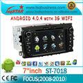 sistema de entretenimiento del coche con los gps para FORD Focus (2008-2010) con gps 3G WIFI PIP IPOD CD TV SAO