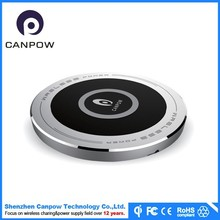 small size classical PMMA wireless charging station for mobile phone