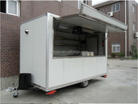 movable coffee shop Yieson Hot Sale Muntifunction Mobile Food Van For Sale/food truck for sale/outdoor food kiosk YS-FV350