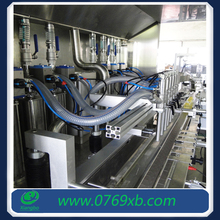 Six-Head Computer Controlled Filling Machine Line