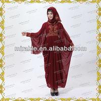 MF17121 2013 new fashion abaya kaftan dubai