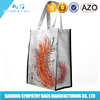 Colorful custom printed recycle laminated shopping bag non woven bag