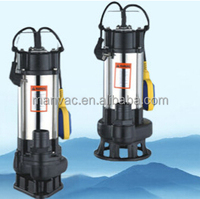 Dongguang pump facotry V750F low pressure Garden float switch Submersible Vertical Pump