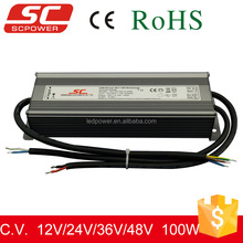 KV-24100-A-DIM 0/1-10V dimmable constant voltage strip led driver 100W 4.15A 24V