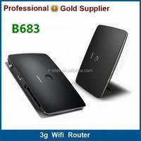 huawei B683 3g portable wireless wifi router mini pocket travel wifi hotspot 3g wifi router