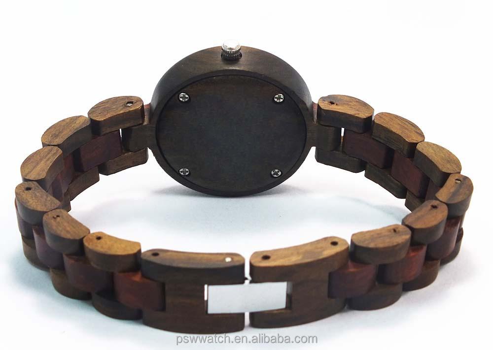 2015 Slim lady wood watch fashion wood watch for lady gift wood watch in Alibaba