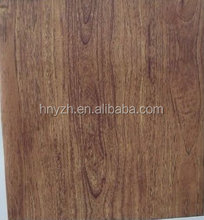 Heat transfer decal wood grain used for pvc wall panel