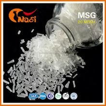 Nasi 99% saflıkta 100 örgü msg monosodyum glutamat tedarikçisi