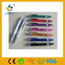 elegant present /gift metal pen, golded clip twist advertising/bank pen