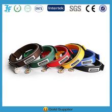 nylon webbing collar for dog with Neoprene and Velcro