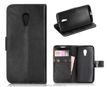 For MOTO G2 case,PU Crazy Horse Leather Case Fashion Back Cover With Card Money Purse Photo Frame Holder Stand Shell For case G2