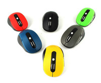 G108 Laser 2.4GHz Optical Wireless Mouse with USB Mini Receiver for Apple Support Plug and Play
