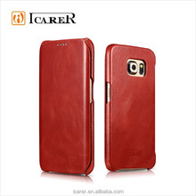 Real Leather Case For Samsung Galaxy S6 Edge
