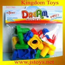 plastic screw toy
