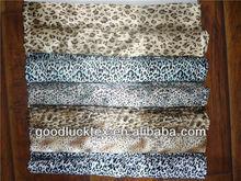 satin printed fabric from China /tela animal print