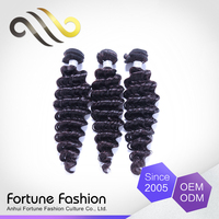 factory wholesale 7a brazilian virgin hair deep wave hair products without alcohol