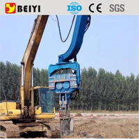 Cheap Excavator Type Vibratory Pile Driver & Pile Hamme for sale made in China