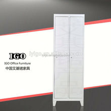 IGO-020 Canton Fair Hot Sale 2 compartment military steel locker