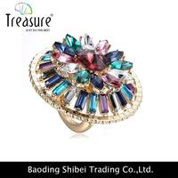 stone interchangeable ringstainless steel women finger ring 2014 fashion jewelry