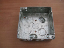 """Estilo canadiense 4 """"cajas EMT de acero galvanizado Plaza"""
