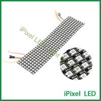 5050rgb smart smd LED matrix-- 8*32 ws2812b