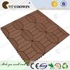 High Quality Waterproof UV-resistant Wood Plastic Composite Wpc Diy Deck Tile