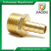Manufacturer 1 1/2bsp forged brass male threaded yellow brass color hose straight barb nipple fittings with competitive price