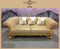french style antique banana leaf furniture, furniture honduras, crystal furniture sofa set DXY-841#