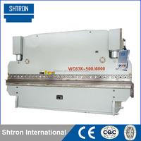 WC67K 500T*6000 CNC Hydraulic Sheet Metal Bending Machine