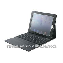 Factory price Bluetooth Keyboard leather case for IPad 2