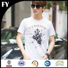Factory direct cutom printed boys fashion t shirt in high quality