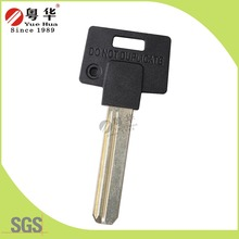 High Quality Computer Key Blank Metal Head Color Rubber Head used in Europe Lock Key Market USA Blank Key Market