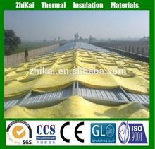Avanzada techo materiales de aislamiento mantas de lana de vidrio