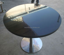 Modern design solid surface round stone top dining tables coffee table