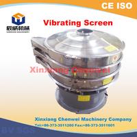 vibrating wet screen sieve / slurry rotary vibrating screen / vibrating screening