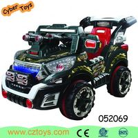 Hot new model Remote control 4 seater kids electric car with CE
