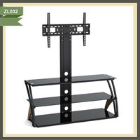 rotate 360 magnetic floating lcd wooden furniture antique chinese tv stand