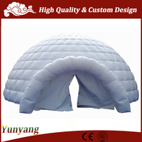 Big inflatable dome tent, inflatable igloo tent for advertising