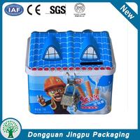 Dong guan factory price wholesale custom metal gift packaging tin box
