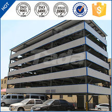 PSH 6 layer lifting and sliding smart rotary parking system