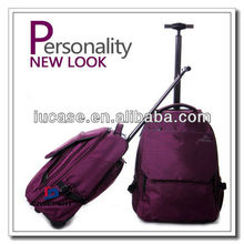 Fashion! New School Student Trolley Backpack Portable